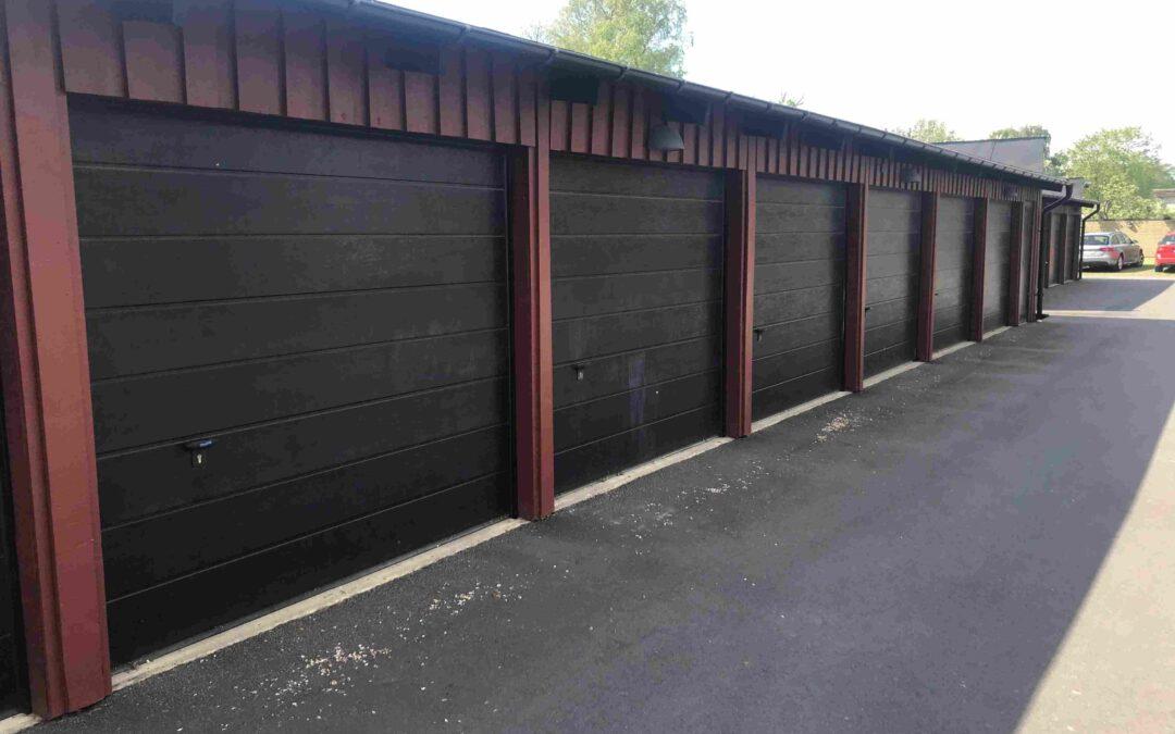 Bostadsrättsförening investerar i garageportar